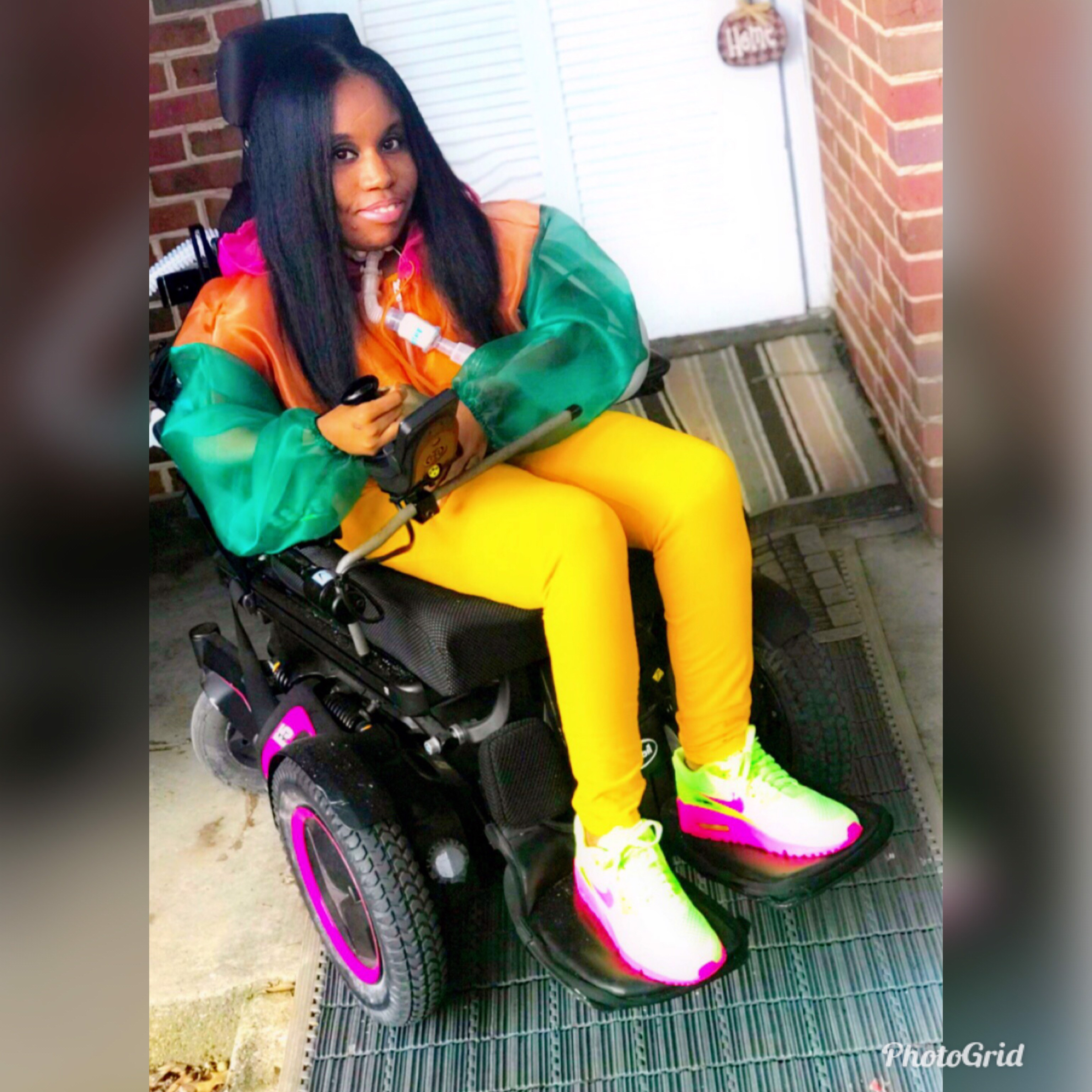 Fine Yoocan Janiqua Williams My Pretty Wheelchair Life With Download Free Architecture Designs Itiscsunscenecom
